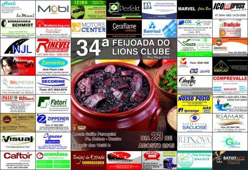 34º Feijoada do Lions Clube